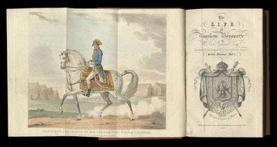 The life of Napoleon Bonaparte / by W.H. Ireland. Image 1.
