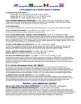2009 Courses Spring LAS