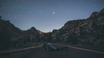 One Night in Zion National Park by Nathan Smail