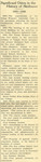 Skidmore News 1928 Skidmore History Significant Moments Part 1