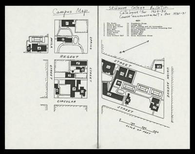 Scribner Campus Map