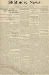 Skidmore News: October 9, 1925