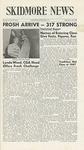 Skidmore News: September 19, 1963