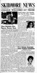 Skidmore News: September 21, 1964
