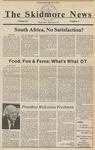 Skidmore News: September 4, 1985