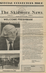 Skidmore News: September 11, 1986 by Skidmore College