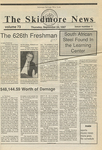 Skidmore News: September 24, 1987 by Skidmore College