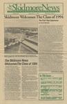 Skidmore News: September 5, 1990