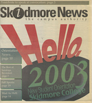 Skidmore News: September 2, 1999 by Skidmore College