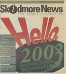 Skidmore News: September 2, 1999