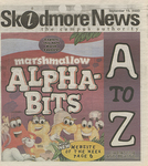 Skidmore News: September 15, 2000 by Skidmore College