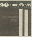 Skidmore News: September 11, 2002 by Skidmore College
