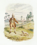 Cruikshank - Watercolours Sikes Attempting to Destroy His Dog