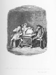 Cruikshank - The Jew & Morris Bolter Begin to Understand Each Other