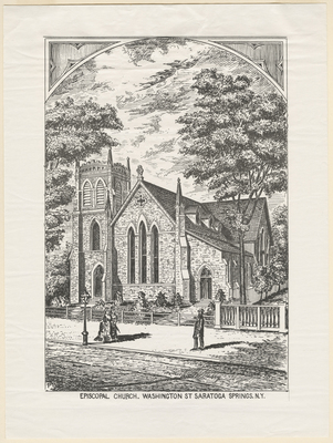 Episcopal Church, Washington St Saratoga Springs, N.Y.