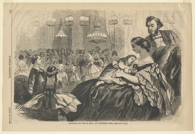 Saratoga in 1859 - A Ball at Congress Hall