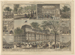 New York, The Grand Union Hotel at Saratoga Springs