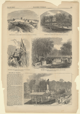 The Fire in Saratoga, Ruins of Congress Hall