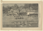 The Saratoga Regatta, the Four Oared Contest on the Third Day