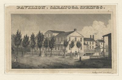 Pavilion. Saratoga Springs