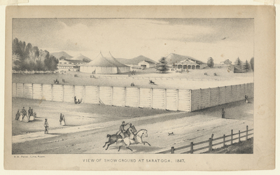 View of Showground at Saratoga