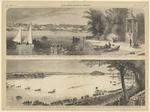 Regatta of the Saratoga Rowing Association on Lake Saratoga